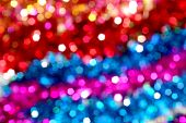 Abstract, Art, Background, Birthday, Blurred Bokeh Background ,bokeh Bright ,bright Festive, Red Blu poster