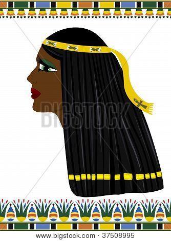 Mujer de Egipto antigua