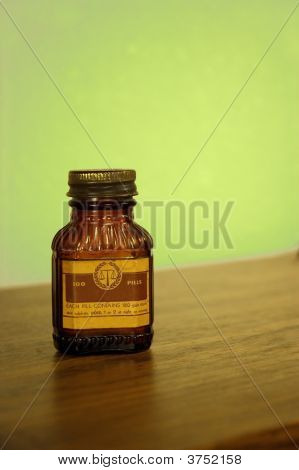 Antique Pill Bottle