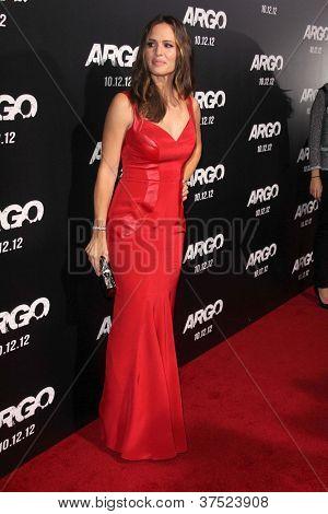 LOS ANGELES - OCT-4: Jennifer Garner arriveert op de