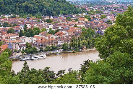 Heidelberg aerial