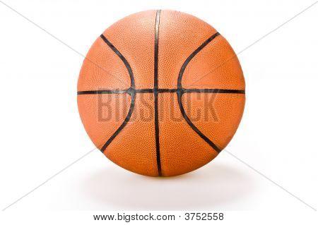 Basket Ball  On White Background Sport