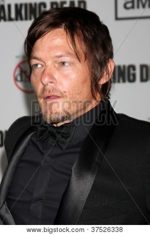 LOS ANGELES - OCT 4:  Norman Reedus arrives at