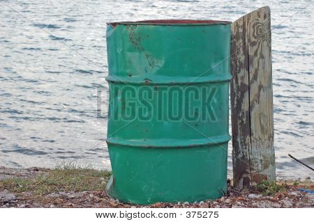 Barrel At The Beach
