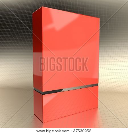 Software Box Red