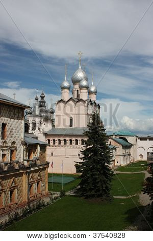 Rostov Kremlin. Church of the Resurrection of Our Lord.