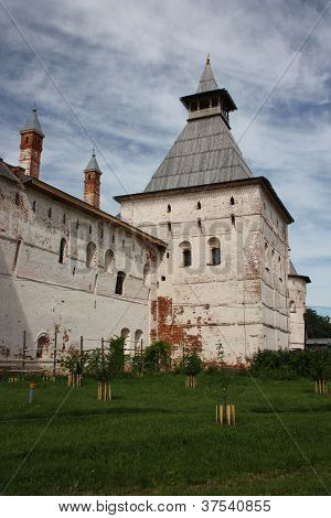 Woodburning tower of the Rostov Kremlin.