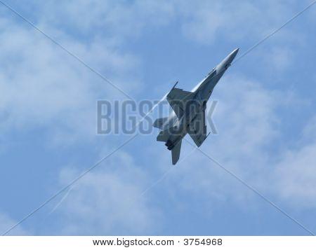 Military Jet Climbing