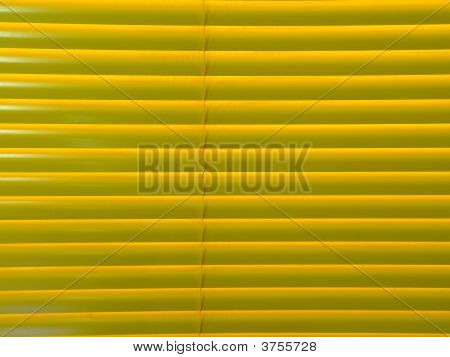 Closed Venetian Blind