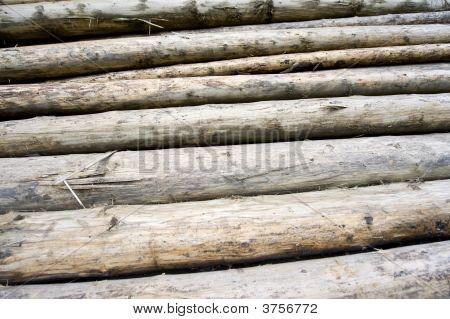 Woodpiles Backgrounds