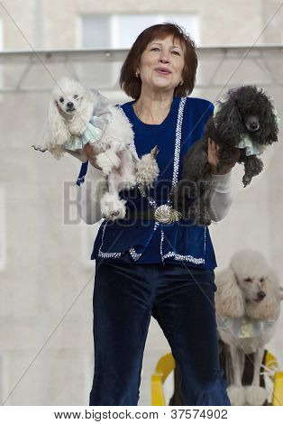 S.korovaeva And Her Dogs