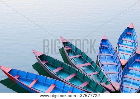 phewa lake,pokhara,nepal