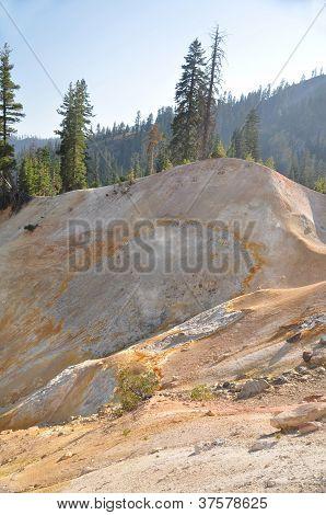 Sulfar Mine Landscape, Lassen Park, CA