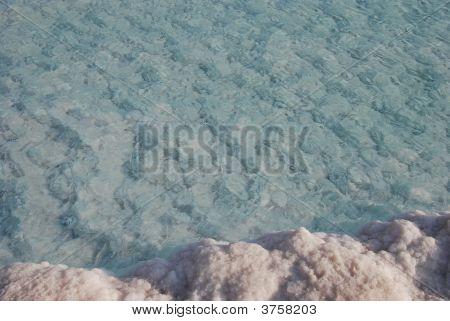 Постер, плакат: Минералы Мертвого моря, холст на подрамнике