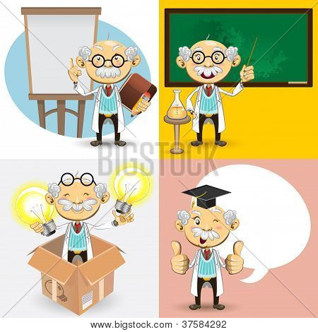 Personagens professor