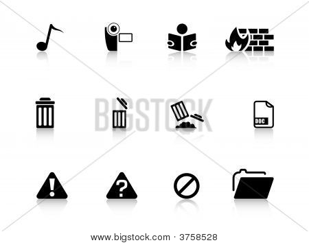 Web Icons From Series