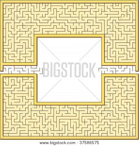 Antic Maze Frame