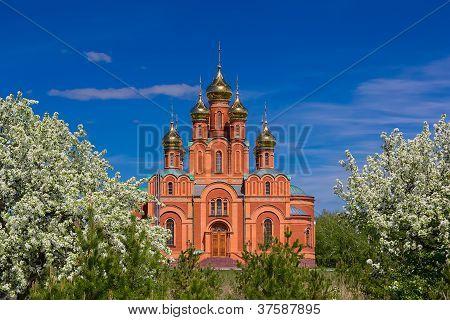 Achairsky monastery, Omsk.