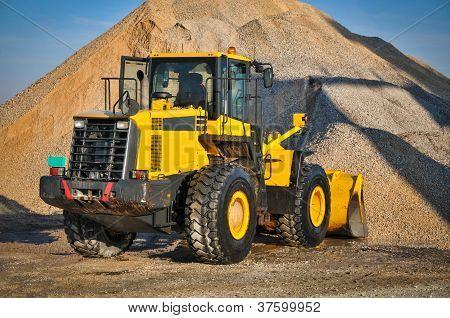 Loader excavator construction machinery equipment