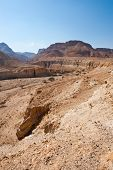 picture of samaria  - Big Stones in Sand Hills of Samaria Israel - JPG