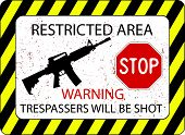 No Trespassers Allowed