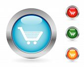 picture of more info  - Glossy shopping buttons - JPG