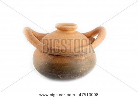 Percolator Pot Made of Earthen.