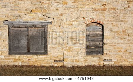 An Old Boarded Up Shed
