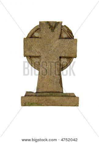 Stone Cross Marker