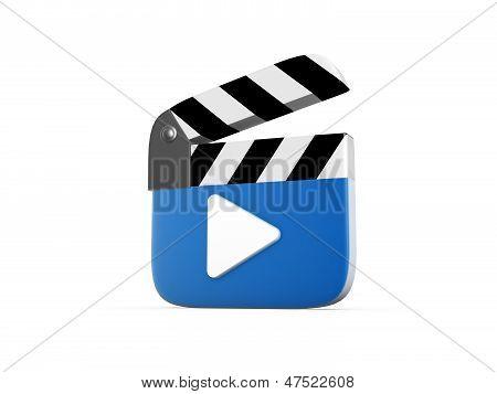 Clapperboard Symbol