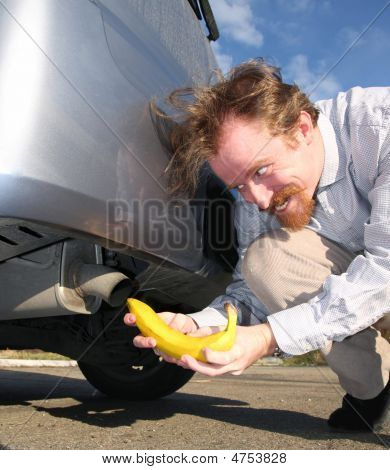 Banana And Exhaust