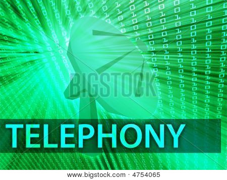 Telephony Illustration