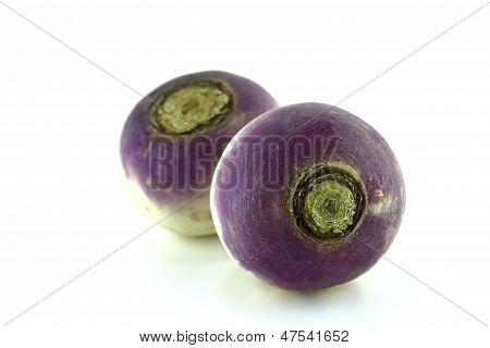 Purple Headed Turnips