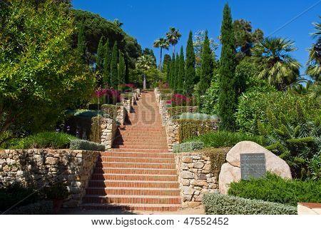 Marimurtra Garden In Blanes, Costa Brava, Spain