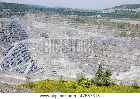 Asbest-mine