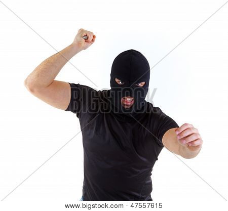 Criminal With Balaclava