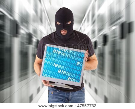 Hacker With Balaclava
