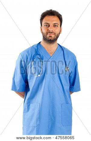 Male Nurse Portrait