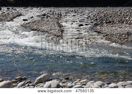 Strong Water Stream