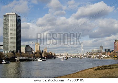 River Thames at Vauxhall