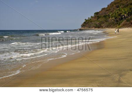 Loitering On The Beach