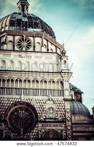 Capella Coleoni, Old Town Bergamo, Italy