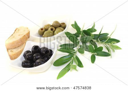Olives With Bread