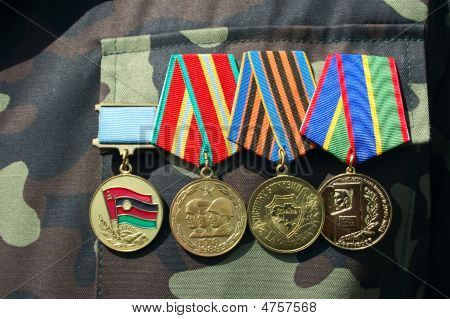 Soviet And Ukrainian Jubilee Medals
