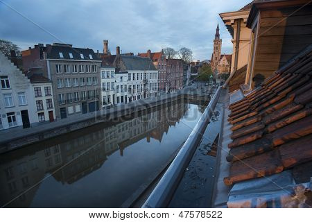 Brugge in Europe- A Medieval City