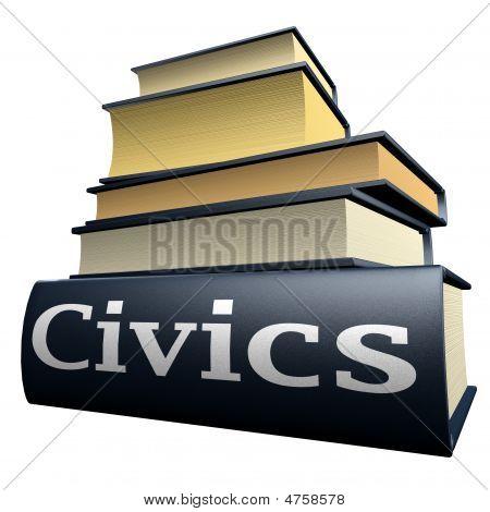 Education books - civics