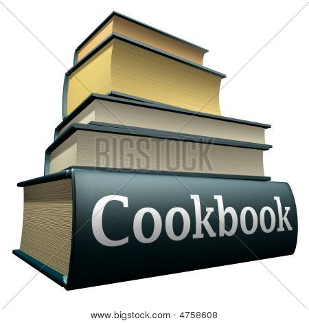 Education books - Cookbooks