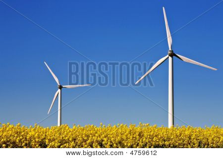 Two Wind Turbines