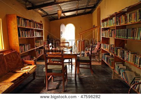 Small Rustic Library