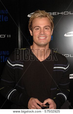Gregory Michael at the Samsung Behold ll Premiere Launch Party, Blvd. 3, Hollywood, CA. 11-18-09